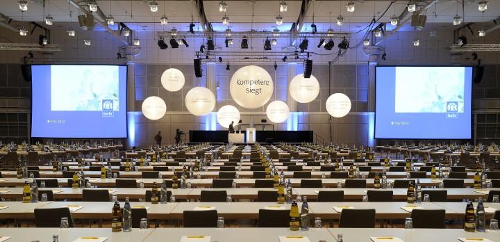 Bühnenkonzepterstellung für Jubiläumskonferenz