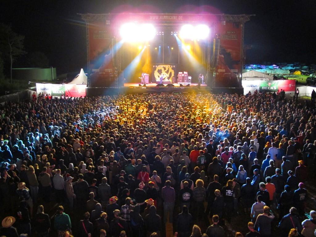 "Hurricane 2012 Festival Bühne - ""Red Stage"""