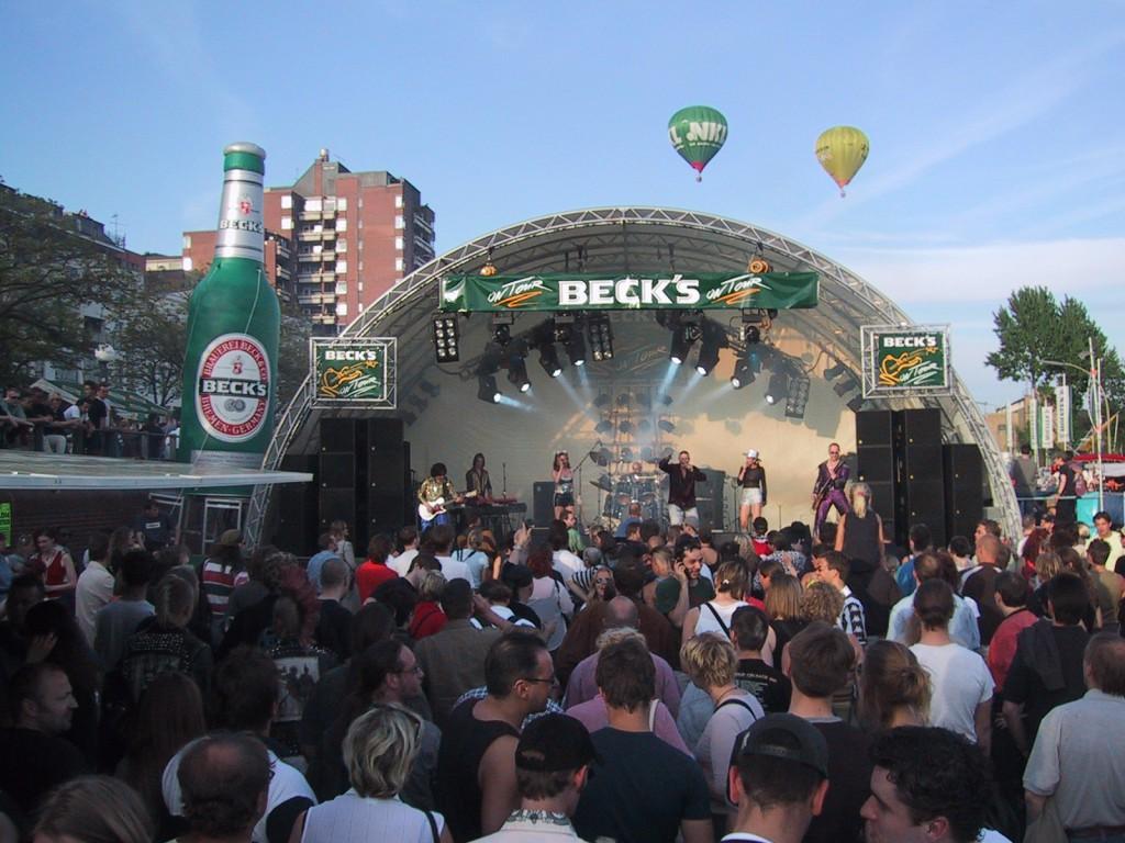arcstage Becks Bühne