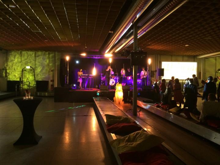 Licht- und Tontechnik, Abendgala mit Band