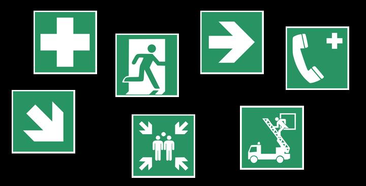 Pictogramme Veranstaltungssicherheit