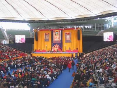 Dalai Lama, Show