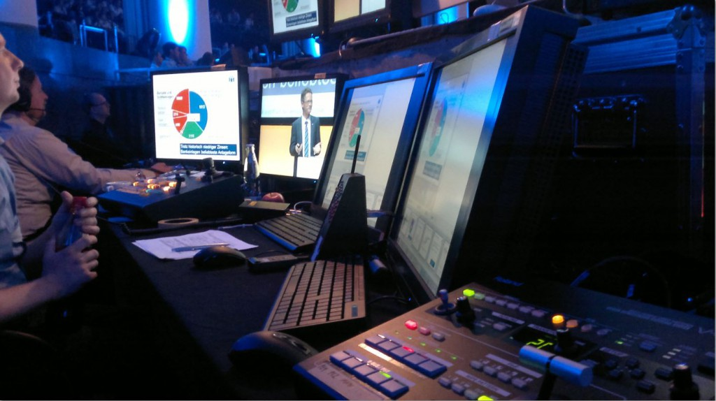 Präsentationstechnik Videoregie