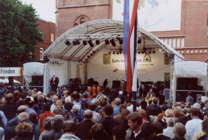 litestage, Kirchentag 2000