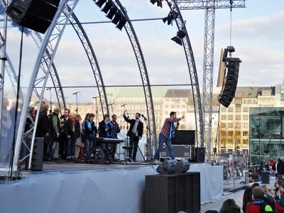Kirchentag - Bühne am Jungfernstieg