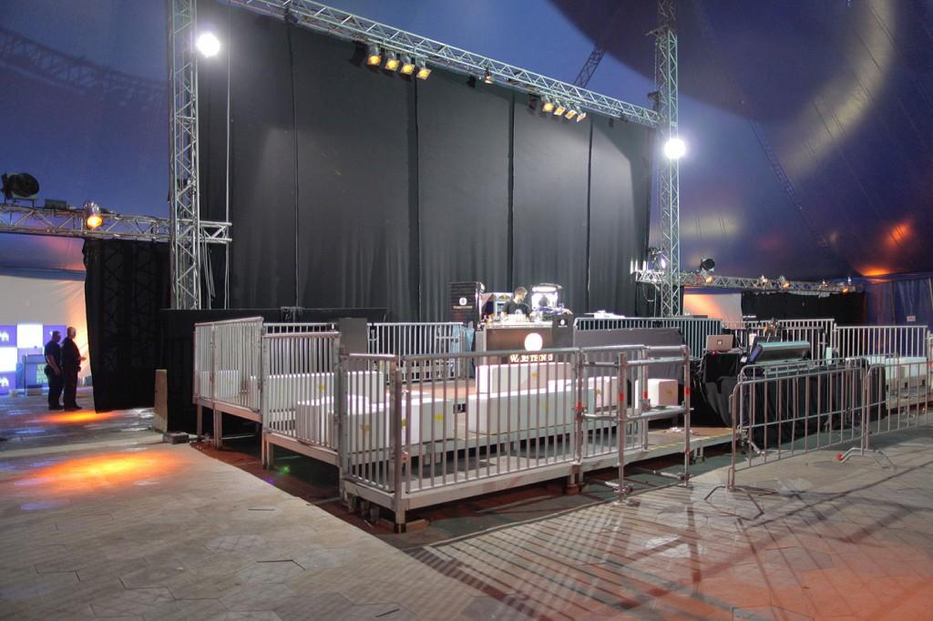 Baltic Soul Weekender 2013 VIP Area mit integriertem FOH