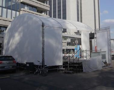 litestage Bühne beim Congress Center Hamburg