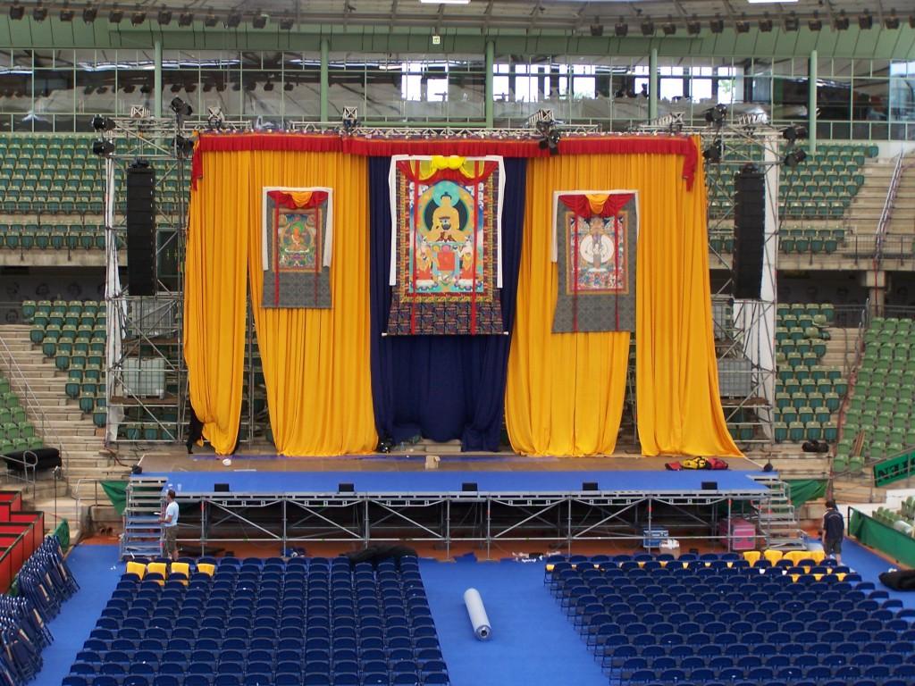 Dalai Lama - Frontansicht
