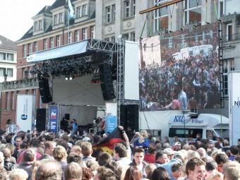 THW Kiel Aufstiegsfeier